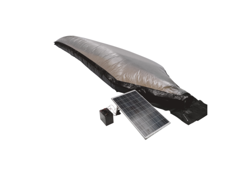 Solar Bubble Dryer